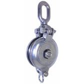 Stainless steel daruma block single