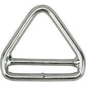 Stainless steel double bar triangle 316 grade