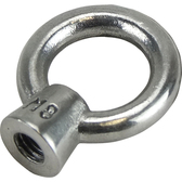 Stainless steel eye nuts 316 grade