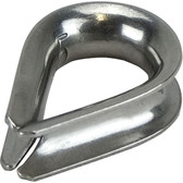 Stainless steel rope thimbles 316 grade