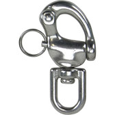 Snap shackles with swivel eye 316 grade stainless steel