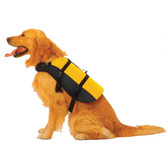 Foam burke pet personal flotation device