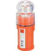 Waterproof led flashing light 4 x battery