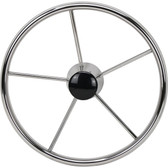Highly polished stainless steel dish wheels tapered shaft