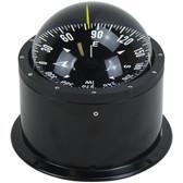 Deck mount binnacle marine compass black