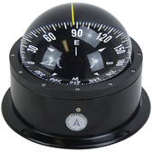 Deck mount binnacle marine compass low profile