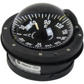 Flush mount horizontally marine compass