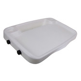 Bait board large plastic with legs