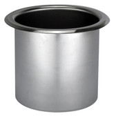 Stainless steel recess drink holders 37490