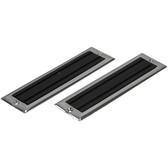 Deck step pair