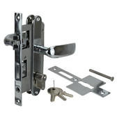 Diecast brass with stainless steel springs large mortise door lock set with keys