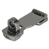 Stainless steel cast hasp staple swivel
