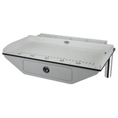 Fillet table with drawer