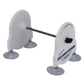 Fishing line dispenser suits large spools