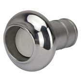 Stainless steel exaust end caps