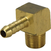 Male brass elbow hose tails with bsp thread