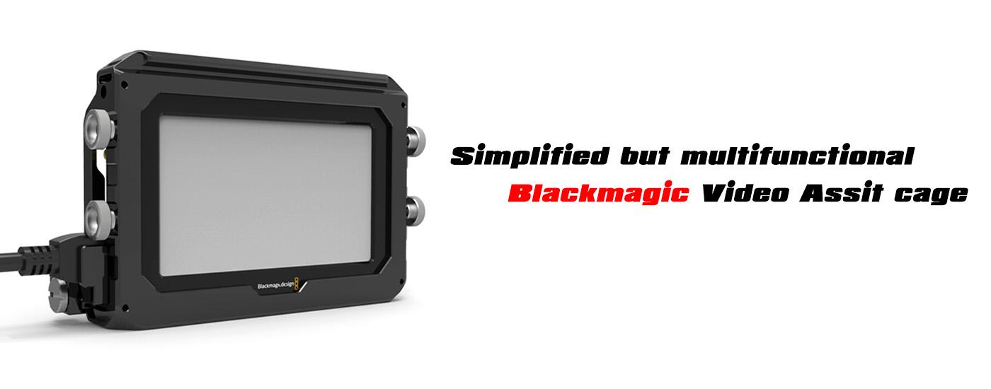 SMALLRIG Blackmagic Video Assist Cage