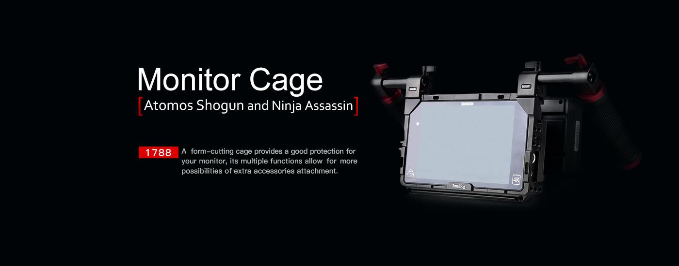 Shogun Monitor Cage