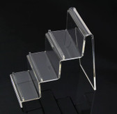 2 Acrylic Purse Cellphone Display Holder 3-Tier