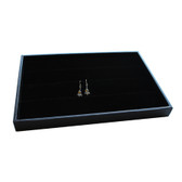 Earring Display Jewelry Tray Black Velvet