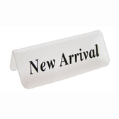 "Acrylic Frosted Sign ""New Arrival"""
