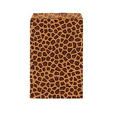 "Paper Jewelry Gift Bag 5x7"" LeoPard (100)"