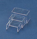 Jewelry Showcase Display Riser Set (3pcs) Mini