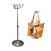 Metal Handbag Purse Hanger Display 4 Hooks