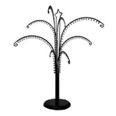 "Large Key Chain Accessory Display Tree Black 26""H"