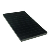 Tray Liner 72-Slot Ring Insert Black Vertical