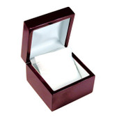 Rosewood Leather Watch Bracelet Gift Box