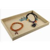 Burlap Jewelry Sample Part Utility Tray