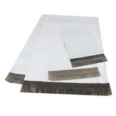 """100 Poly Mailer Shipping Bag  10"""" x 6 3/4"""" White"""