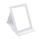 Folding Glass Mirror White