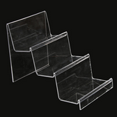 2 Acrylic Purse Handbag Display Holder 3-Tier