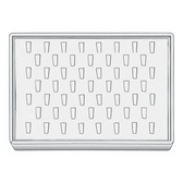 Stackable Showcase Tray Ring 53-Clip White