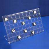 Large Acrylic Gem Display Rack (60 of Z1809)
