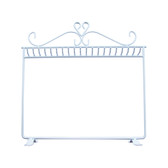 Metal Necklace Bracelet Display Rack White