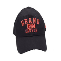 New Era Grand Canyon Custom Hats Canvas Gray with Pink