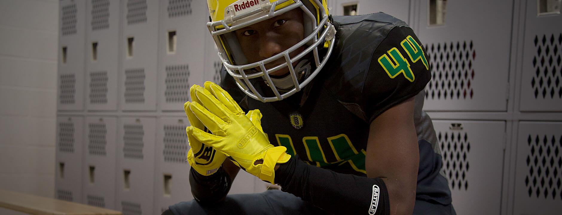 Battle DoubleThreat Football Gloves