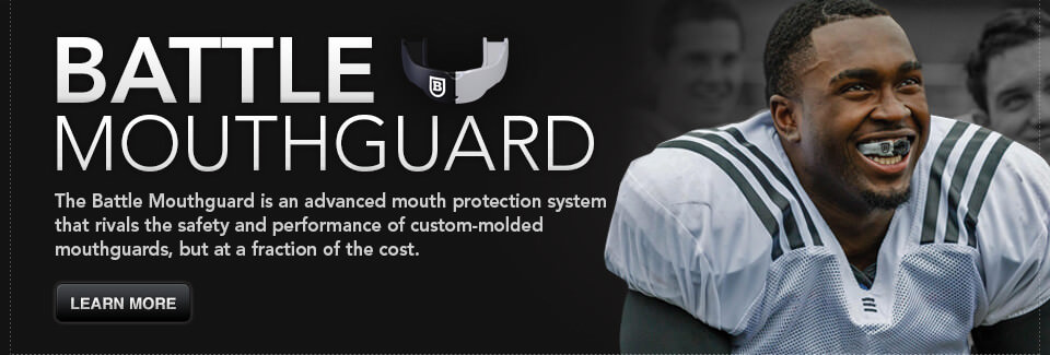 Battle Mouthguard Banner
