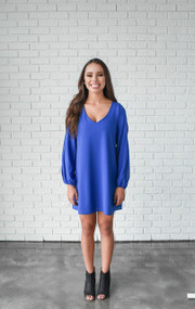 Royal Brittney Swing Dress