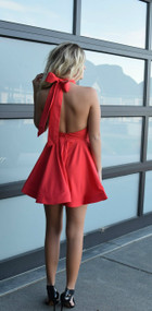Reverse Last Call Red Dress