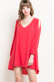 Coral Brittney Dress