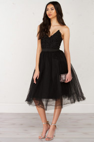 Limited Edition Rare London Textured Bustier Tutu Dress