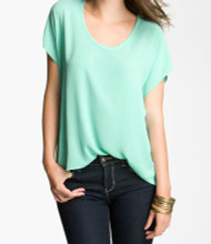 The Charlotte Ceramic Green Top
