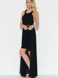 The Isabella Maxi- Black