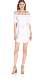 Lucca Couture White Off The Shoulder Dress