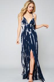 The Peyton Navy Maxi Dress
