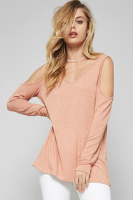 The Dawn Top- Peach